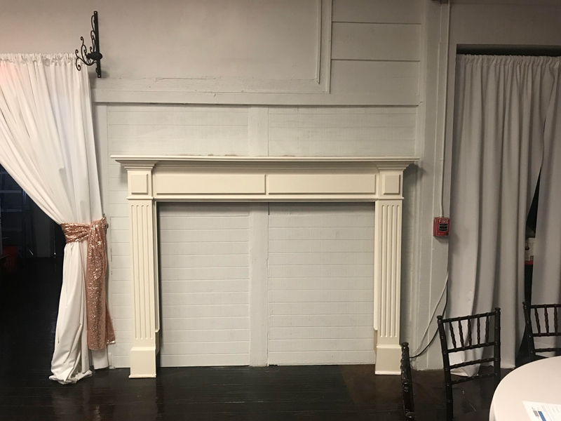 Fireplace Background included