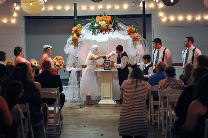 ceremony & reception - wedding day - 3045