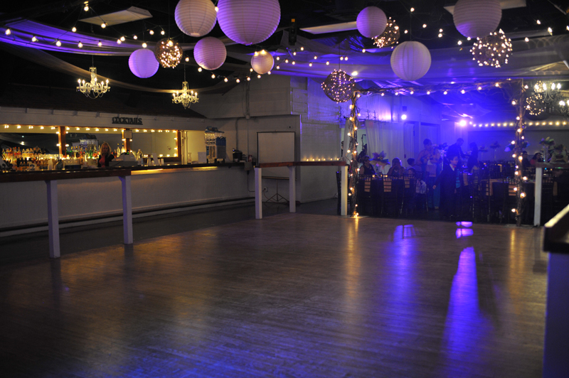 large dance floor - reception - 3007