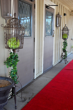 foyer - wedding day - 2007