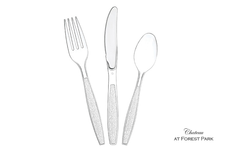 Clear Plastic Utensils
